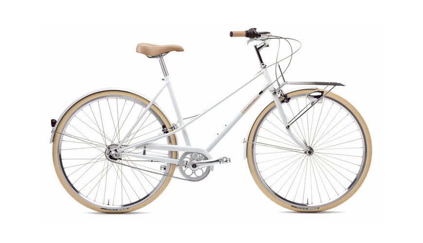 Creme Caferacer Lady Solo 3-speed white